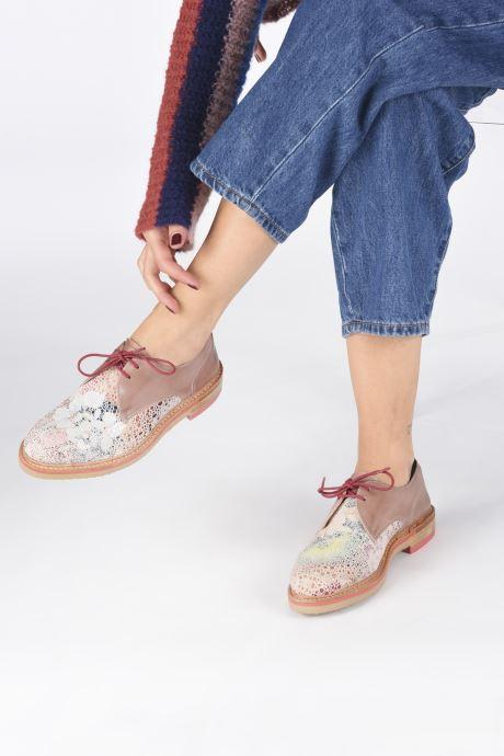 Chaussures à lacets Neosens Albilla S924 Rose vue bas / vue portée sac