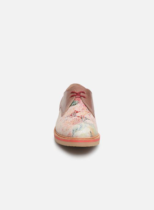 Chaussures à lacets Neosens Albilla S924 Rose vue portées chaussures