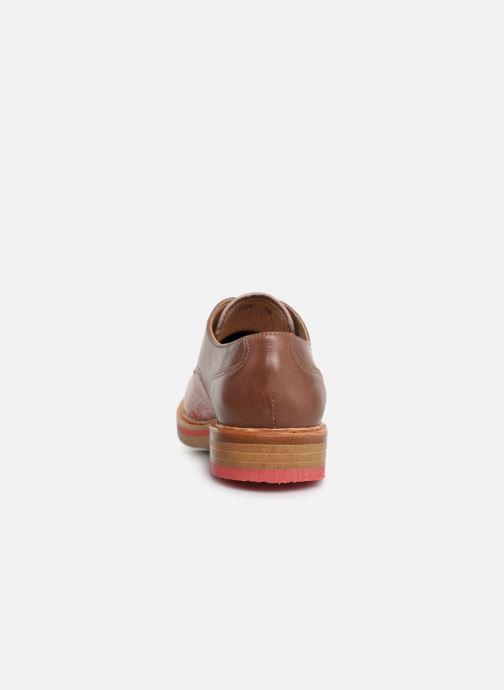 Chaussures à lacets Neosens Albilla S924 Rose vue droite