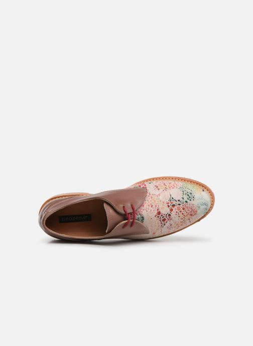 Chaussures à lacets Neosens Albilla S924 Rose vue gauche