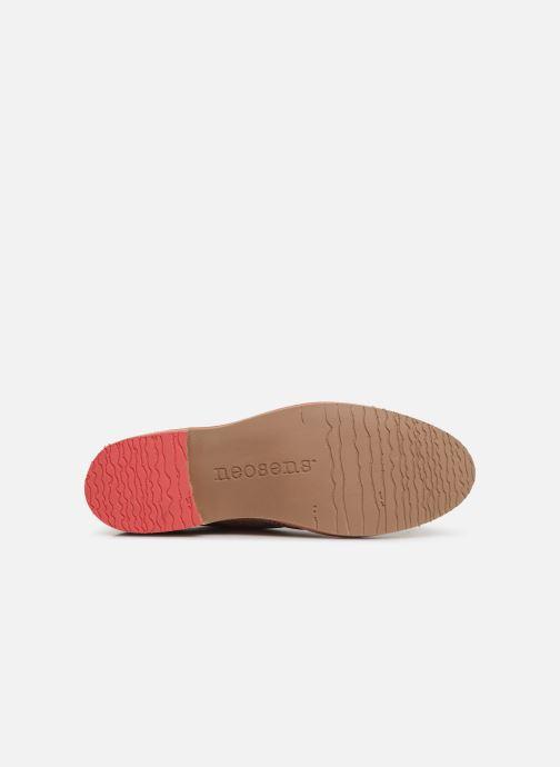 Chaussures à lacets Neosens Albilla S924 Rose vue haut