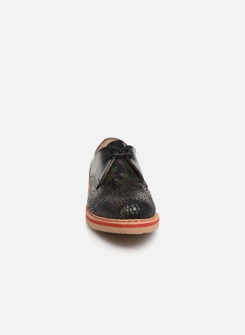 Schnürschuhe Neosens Albilla S924 schwarz schuhe getragen