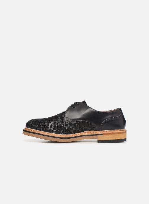 Lace-up shoes Neosens Albilla S924 Black front view