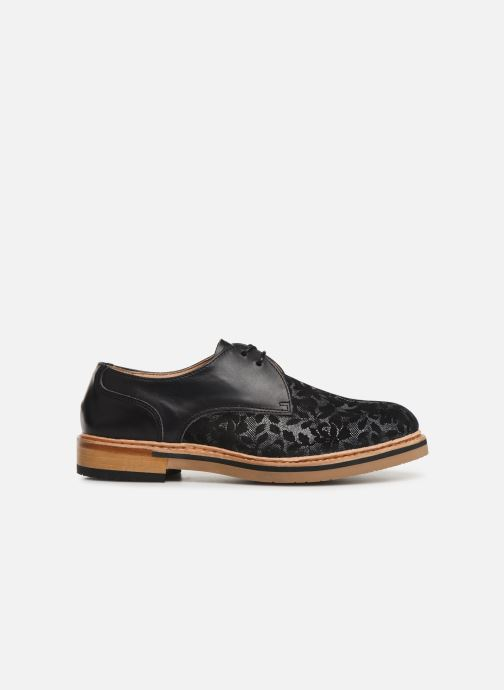 Lace-up shoes Neosens Albilla S924 Black back view