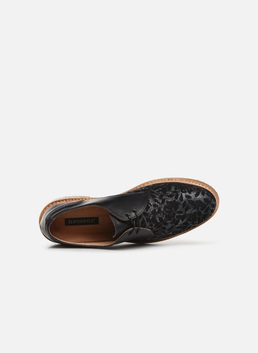 Lace-up shoes Neosens Albilla S924 Black view from the left