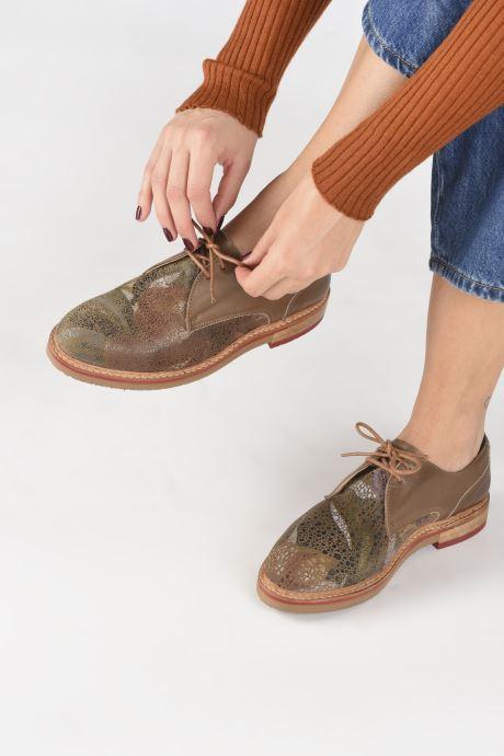 Chaussures à lacets Neosens Albilla S924 Marron vue bas / vue portée sac