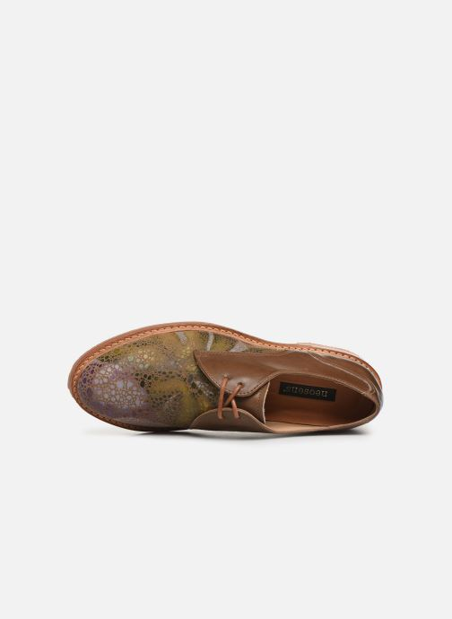 Lace-up shoes Neosens Albilla S924 Brown view from the left