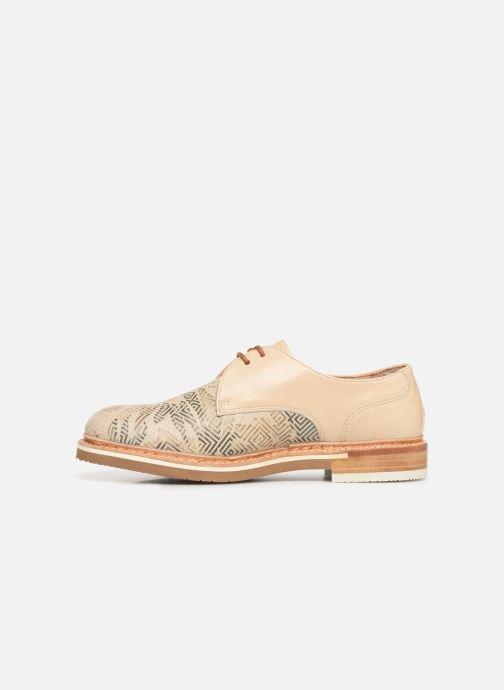 Zapatos con cordones Neosens Albilla S924 Beige vista de frente
