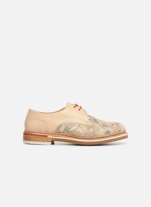 Chaussures à lacets Neosens Albilla S924 Beige vue derrière