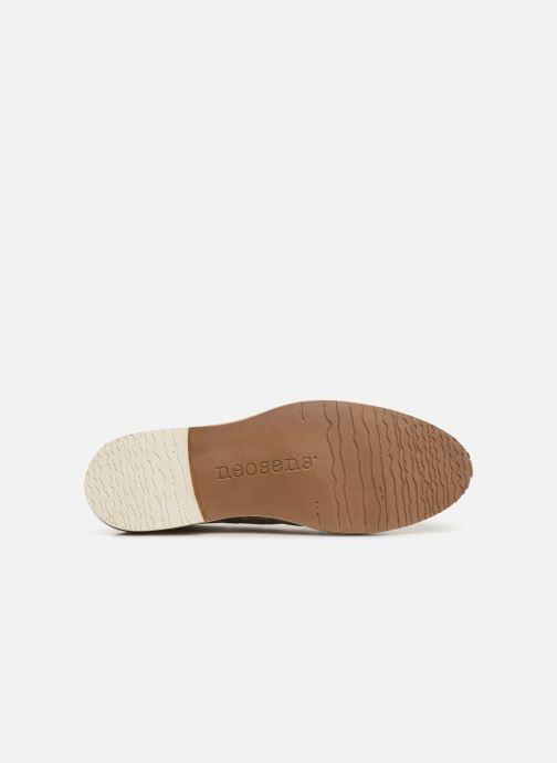 Zapatos con cordones Neosens Albilla S924 Beige vista de arriba