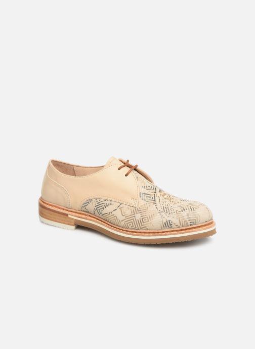 Zapatos con cordones Neosens Albilla S924 Beige vista de detalle / par