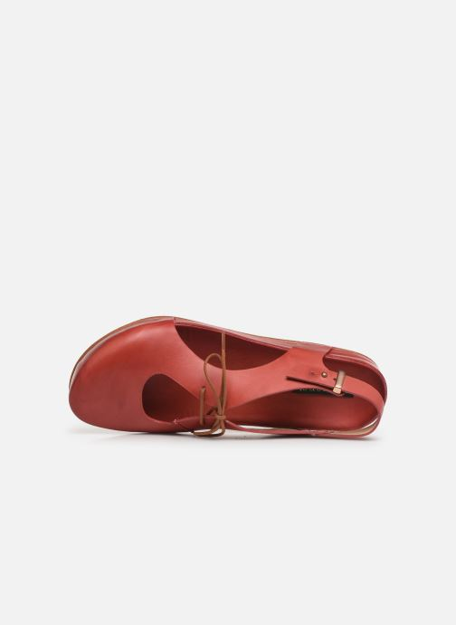 Sandals Neosens Lairen S953 Red view from the left