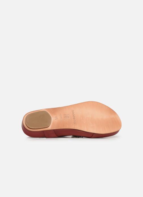 Sandales et nu-pieds Neosens Lairen S953 Rouge vue haut