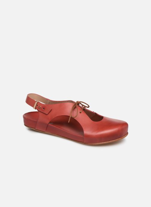 Sandales et nu-pieds Neosens Lairen S953 Rouge vue détail/paire
