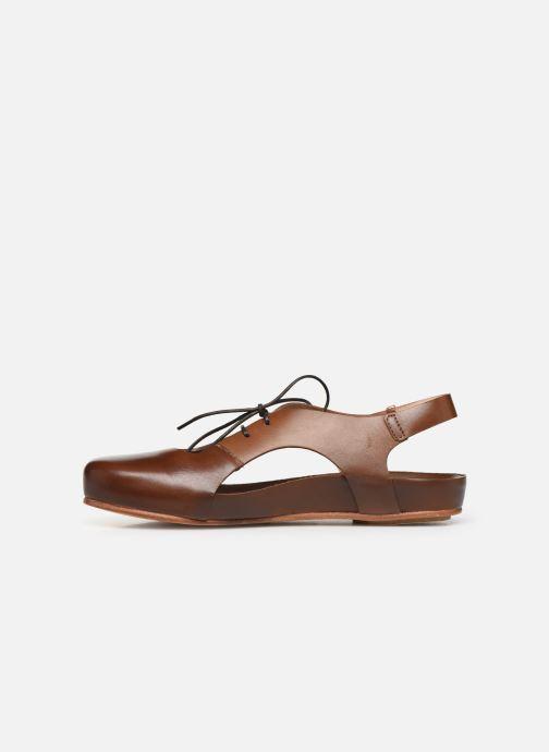 Sandales et nu-pieds Neosens Lairen S953 Marron vue face