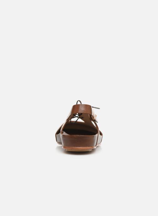 Sandales et nu-pieds Neosens Lairen S953 Marron vue droite