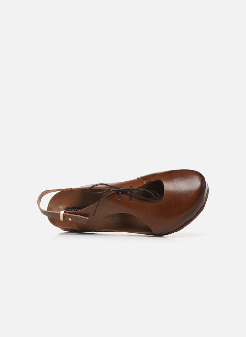 Sandales et nu-pieds Neosens Lairen S953 Marron vue gauche