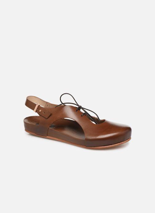 Sandales et nu-pieds Neosens Lairen S953 Marron vue détail/paire