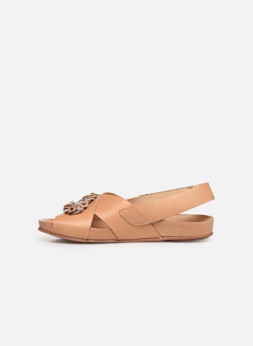 Sandales et nu-pieds Neosens Lairen S956 Marron vue face