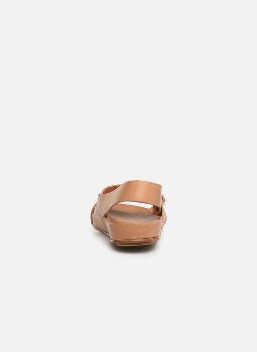 Sandales et nu-pieds Neosens Lairen S956 Marron vue droite