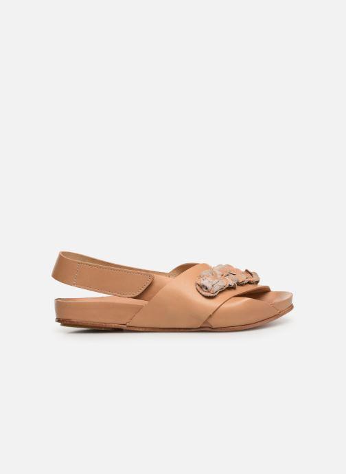 Sandales et nu-pieds Neosens Lairen S956 Marron vue derrière