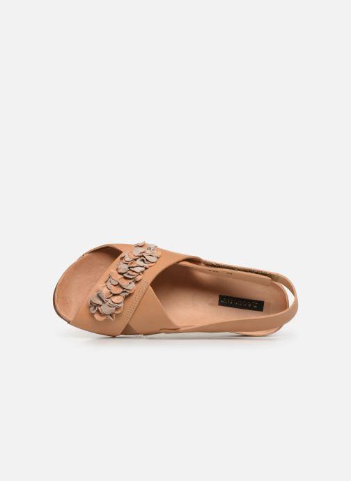 Sandales et nu-pieds Neosens Lairen S956 Marron vue gauche