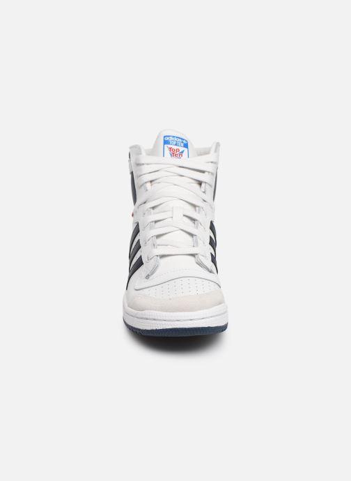 Sneaker adidas originals Top Ten Hi J weiß schuhe getragen