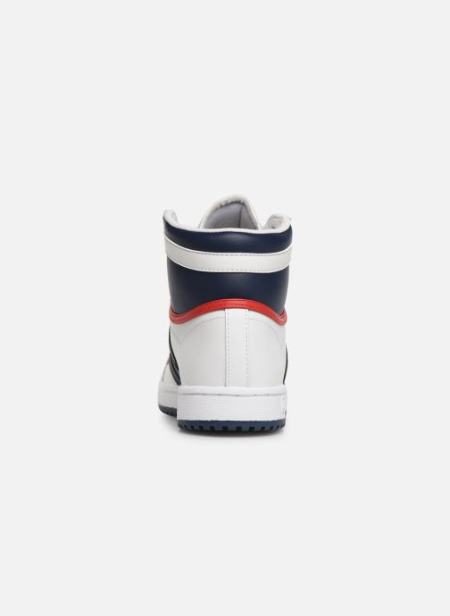 Baskets adidas originals Top Ten Hi J Blanc vue droite