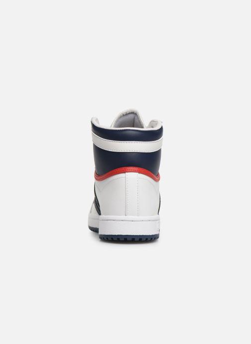 Sneaker adidas originals Top Ten Hi J weiß ansicht von rechts