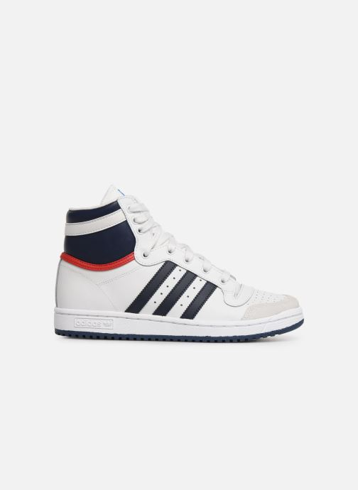 Baskets adidas originals Top Ten Hi J Blanc vue derrière