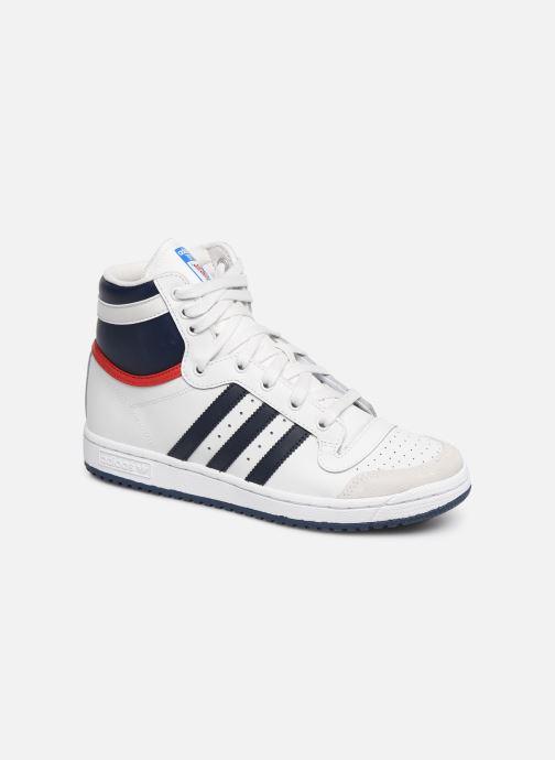 Trainers adidas originals Top Ten Hi J White detailed view/ Pair view