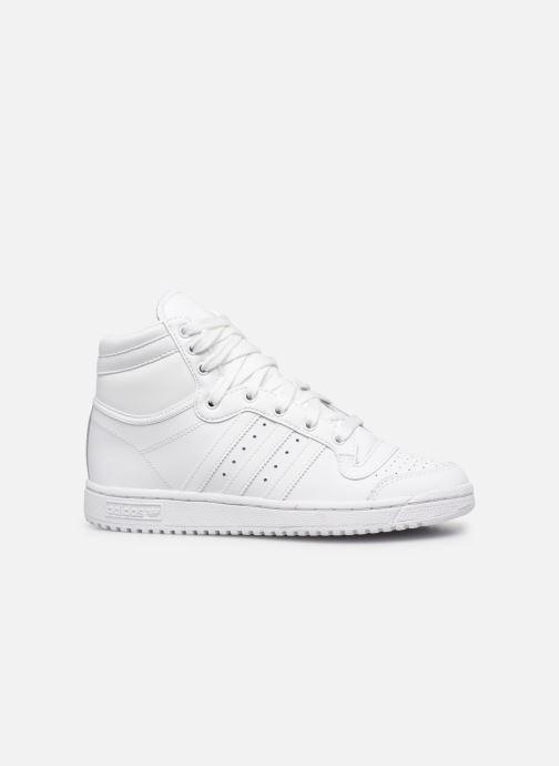 Sneaker adidas originals Top Ten Hi J weiß ansicht von hinten