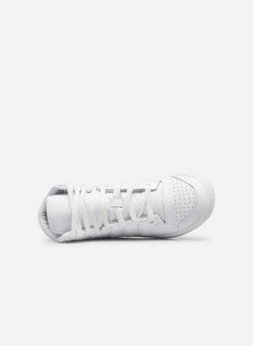 Sneaker adidas originals Top Ten Hi J weiß ansicht von links