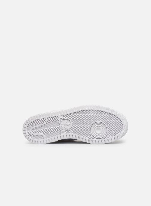 Sneaker adidas originals Top Ten Hi J weiß ansicht von oben
