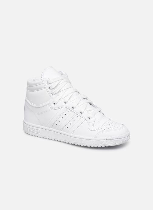 Baskets adidas originals Top Ten Hi J Blanc vue détail/paire
