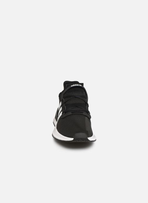 Baskets adidas originals U_Path Run J Noir vue portées chaussures