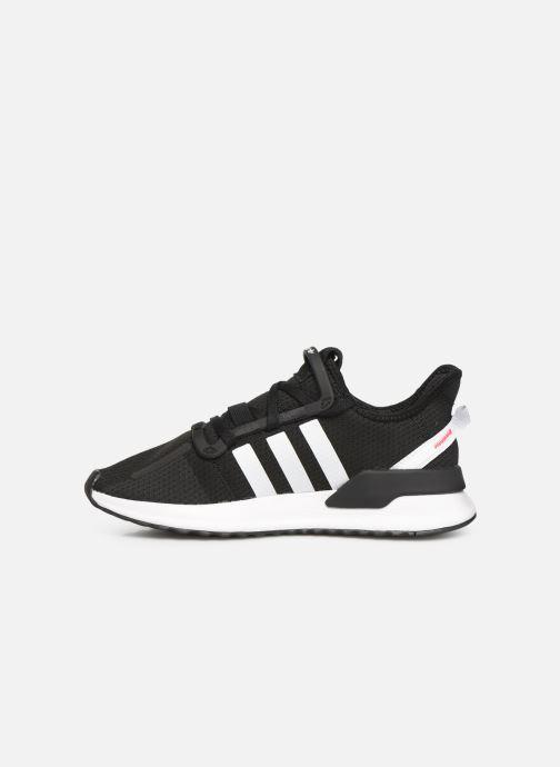 Sneaker adidas originals U_Path Run J schwarz ansicht von vorne