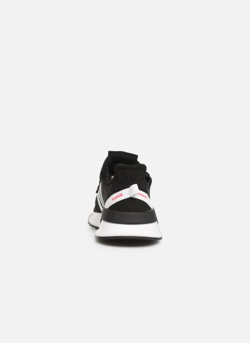 Sneaker adidas originals U_Path Run J schwarz ansicht von rechts