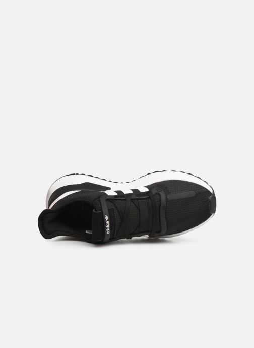 Sneaker adidas originals U_Path Run J schwarz ansicht von links