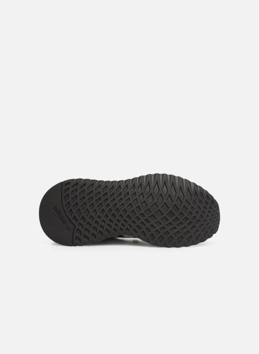 Sneaker adidas originals U_Path Run J schwarz ansicht von oben