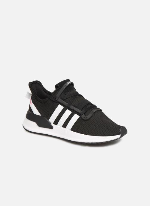 Baskets adidas originals U_Path Run J Noir vue détail/paire