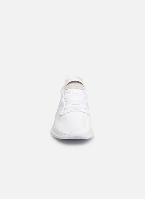 Sneaker adidas originals U_Path Run J weiß schuhe getragen