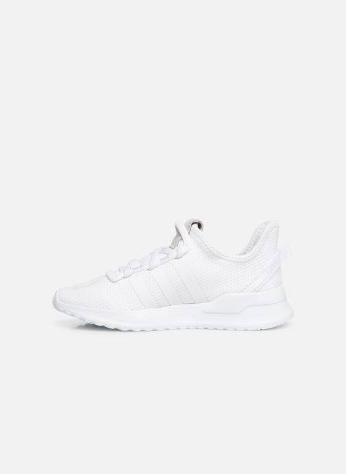 Baskets adidas originals U_Path Run J Blanc vue face