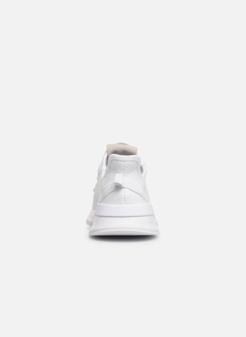 Baskets adidas originals U_Path Run J Blanc vue droite