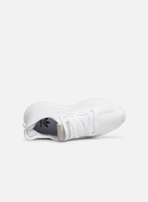Baskets adidas originals U_Path Run J Blanc vue gauche