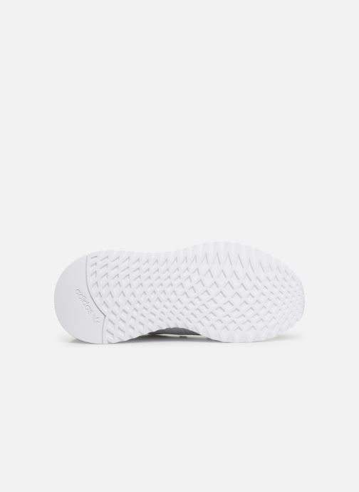 Baskets adidas originals U_Path Run J Blanc vue haut