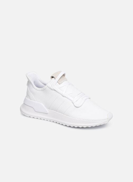 Baskets adidas originals U_Path Run J Blanc vue détail/paire