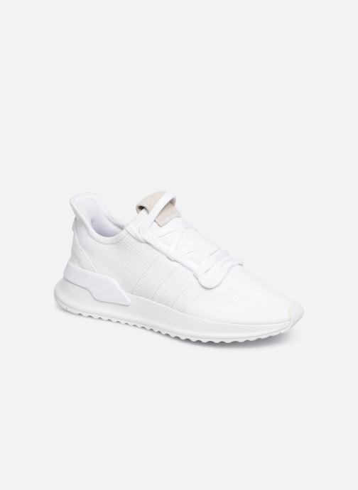 Baskets adidas originals U_Path Run J Blanc vue détail/paire