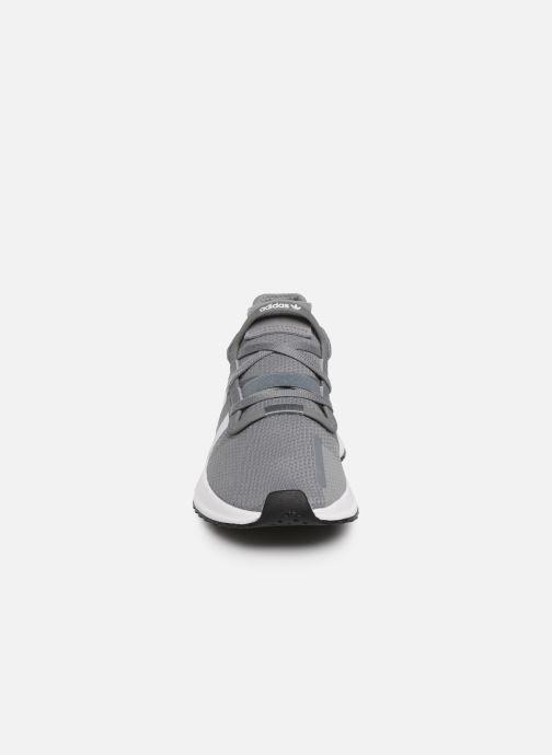 Sneaker adidas originals U_Path Run J grau schuhe getragen