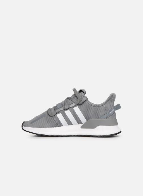 Sneaker adidas originals U_Path Run J grau ansicht von vorne